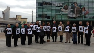 Harpurhey residents protest about BBC3 programme 'People like us'