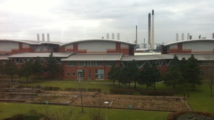 Shell science research centre which has been donated to University of Chester.