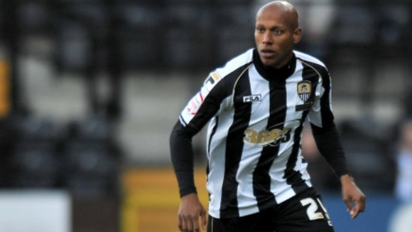 Jordan Stewart when he played for Notts County