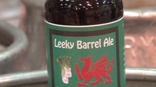 Leek-y Barrel Ale makes St David's Day debut
