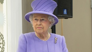 Queen Elizabeth II pictured earlier this week.