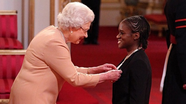 The Queen spent yesterday honouring Olympic heroes such as Nicola Adams (MBE).