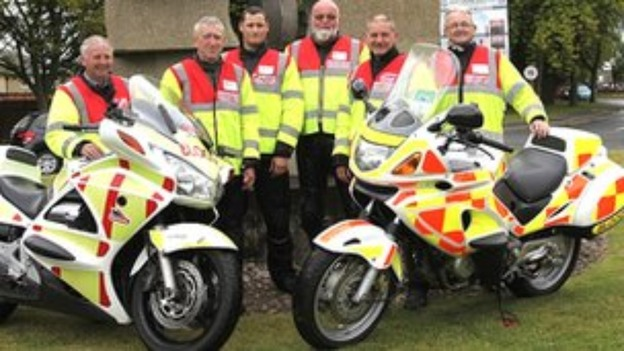 Midland Freewheelers Emergency Blood Bikes