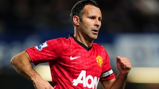 Manchester United winger Ryan Giggs