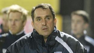 Gillingham manager Martin Allen