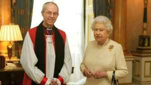 On Tuesday the Queen met with the new Archbishop of Canterbury, the Most Reverend Justin Welby, at Buckingham Palace