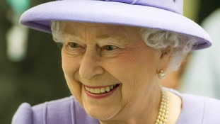 Queen Elizabeth II toured the Royal London Hospital in east London.
