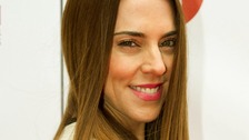 Melanie Chisholm (Mel C) arriving at the Tesco Mum of the Year Awards 2013,