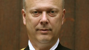 Chris Grayling became Justice Secretary in September last year.