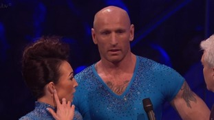 Dancing on Ice vote cancelled after rugby star falls ill