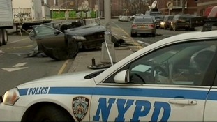 The couple were killed in the crash in Williamsburg, Brooklyn