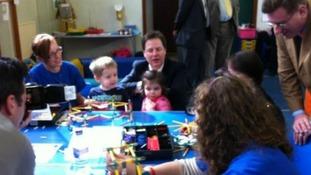 Deputy PM tours Wales