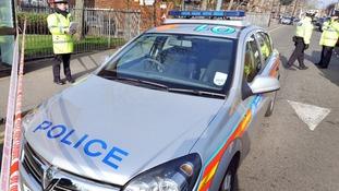 Met Police on duty on London