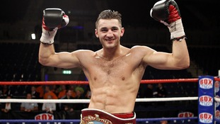 Nathan Cleverly retaining the WBO Light-Heavyweight title in 2011
