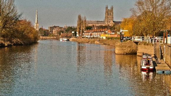 River Severn in Worcester