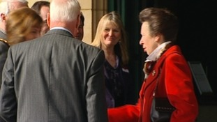 Princess Anne meeting headteachers