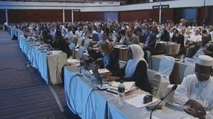 Delegates at the CITES meeting in Bangkok