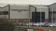 Meat processing plant in Merthyr Tydfil