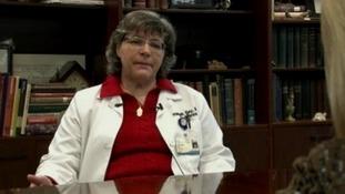 HIV specialist, Dr Hannah Gay