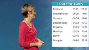 Your forecast and tide times