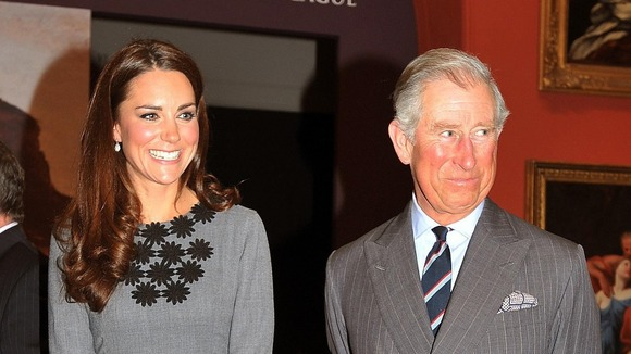 Prince Charles said he was very excited about becoming a grandfather