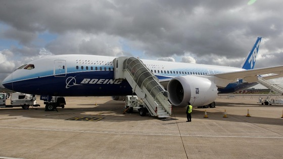 Boeing 787 Dreamliner at Heathrow Airport