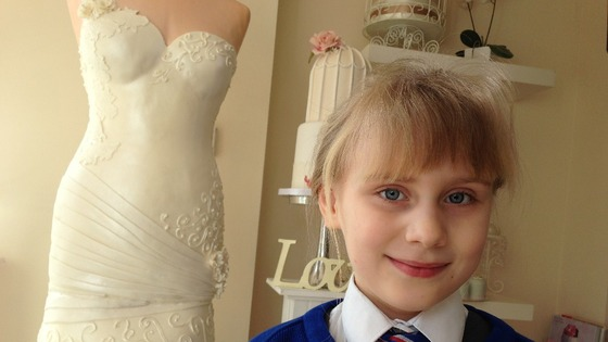 six-year-old Hannah's design has gone viral
