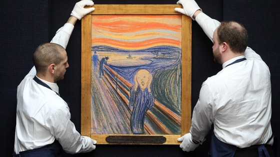 Edvard Munch&#x27;s &quot;The Scream&quot;