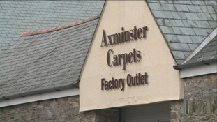 300 workers laid off at Axminster Carpets