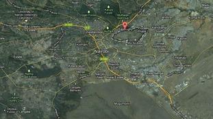 The Eastleigh district of Nairobi, Kenya