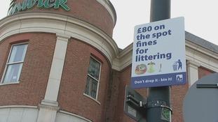 Litter, Canterbury, fines