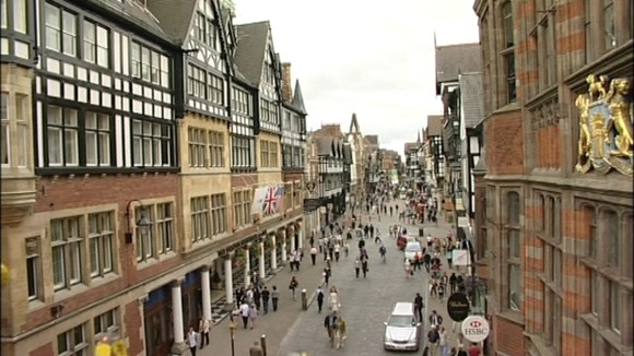 Chester high street