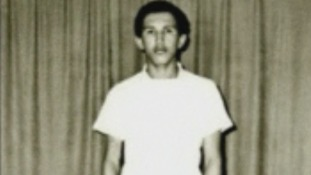 Hugo Chavez during his first year at Military Academy in Caracas