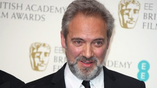 Sam Mendes at the Baftas earlier this year
