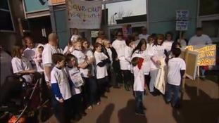 Southampton heart protest