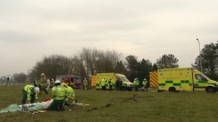 Emergency services simulate radioactive spill near Anglesey's Wylfa nuclear power station