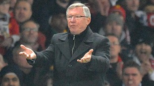 """Alex Ferguson was said to be """"too distraught"""" to talk to media after the match"""