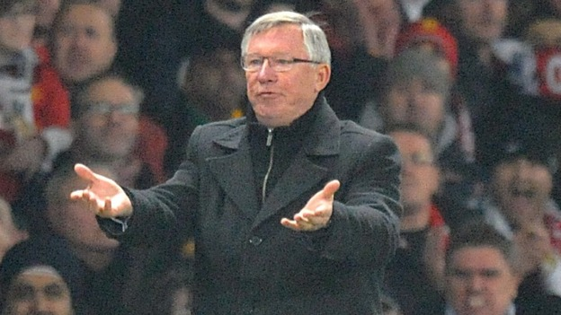 "Alex Ferguson was said to be ""too distraught"" to talk to media after the match"