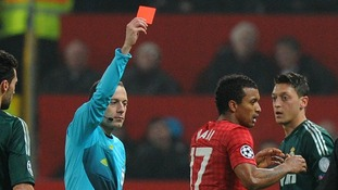 Man apologises following 999 call over Champions League red card