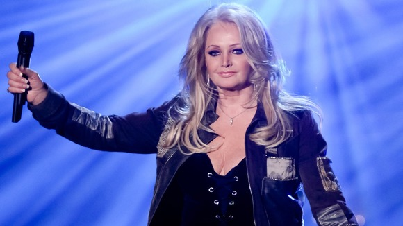 Bonnie Tyler performs on German television last month
