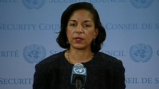 US Ambassador to the UN Susan Rice