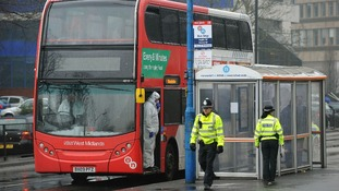 Christina was attacked on this National Express West Midlands No. 9 bus.