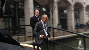 Lord Alan Sugar leaves the tribunal