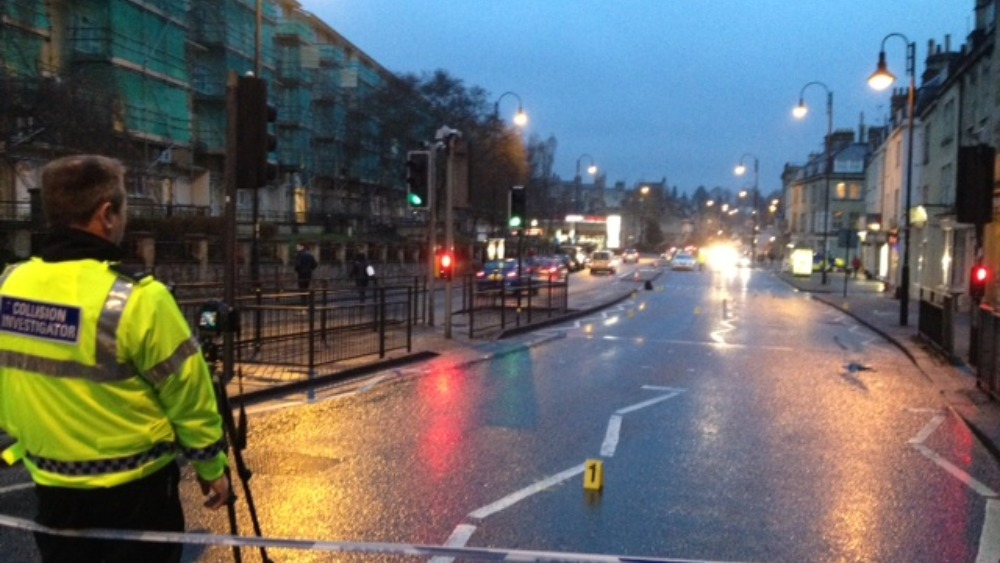 Picture London Road Remains Blocked Off West Country