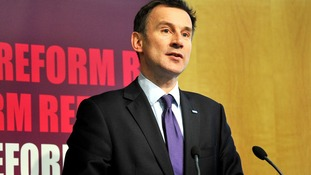 "Jeremy Hunt is expected to say that too many middle-of-the-road hospitals are ""hitting targets but missing the point"""