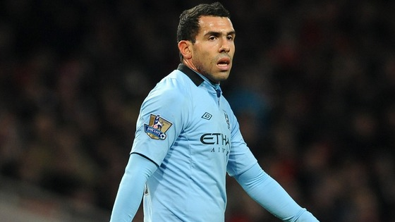 Carlos Tevez was banned from driving for 6 months in January