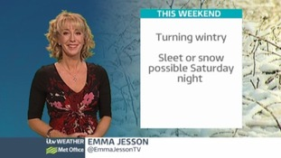 Turning wintry this weekend