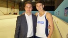 Luke Campbell with our reporter James Webster