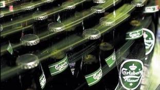 Carlsberg bottling plant
