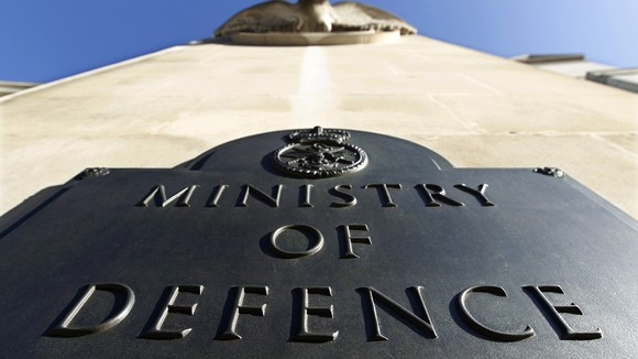 The Ministry of Defence revealed details of the operation to ITV News